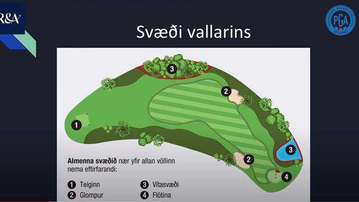 Kennslumyndband PGA: Breytingar á golfreglunum